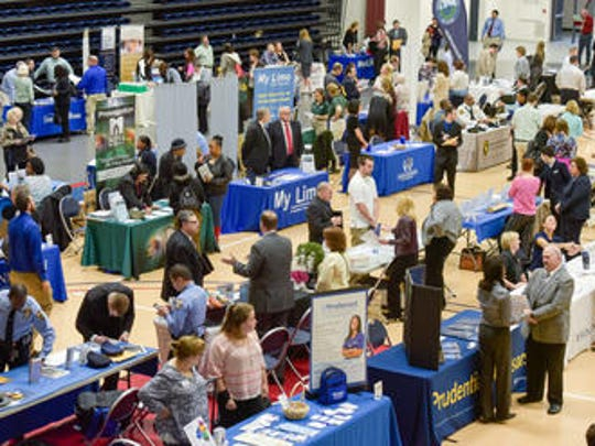 The Monmouth County Spring Job Fair was held at the