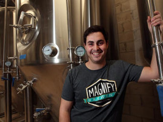 Eric Ruta, owner of Magnify Brewing.