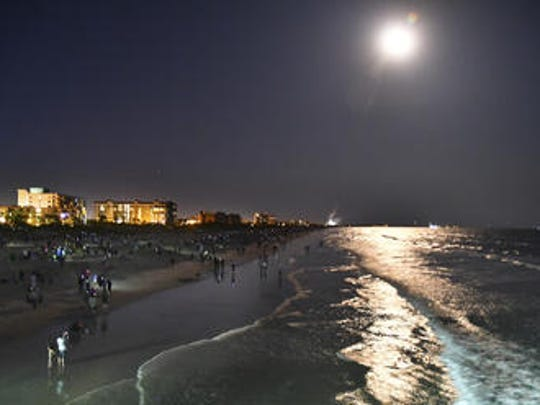 Brevard County is one of the few areas in the world where you can watch a rocket launch from the beach, day or night.