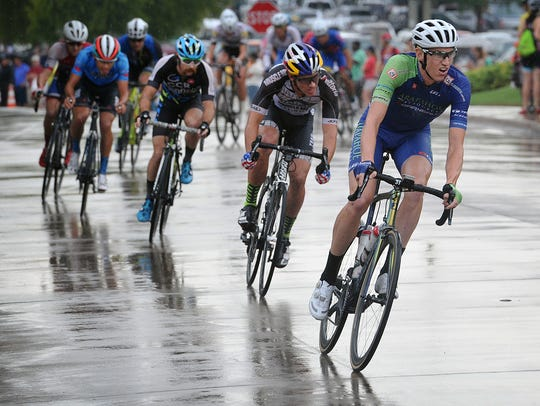 The Hotter 'N Hell Hundred Criterium Races went on