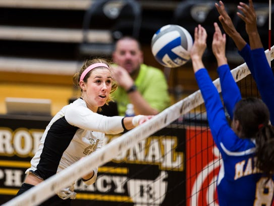 Anderson University's Marissa Mitter was one of 15