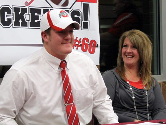 Windsor's Joey O'Connor committed to Ohio State for football after de-committing from Penn State.