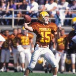 Great Falls native Dave Dickenson led the Montana Grizzlies to the 1995 NCAA I-AA national championship.