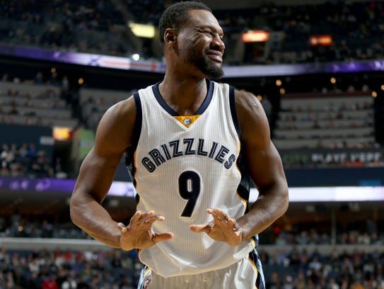 """Tony Allen is back in the starting lineup,"" coach"