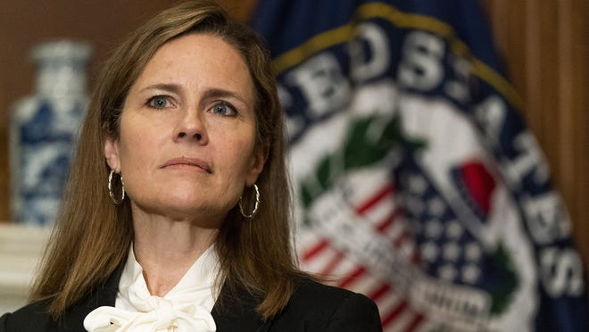 Judge Amy Coney Barrett is President Donald Trump's Supreme Court nominee. Her confirmation hearing starts Monday.