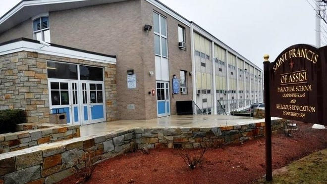 Braintree school officials are considering renting St. Francis of Assisi elementary school, which closed in June, to gain 14 additional classrooms.