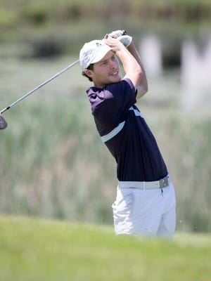 Former St. John's High standout Tim Umphrey is tied for second entering the final two round of the New England Amateur Championship in Concord.
