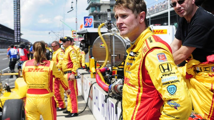 IndyCar's Ryan Hunter-Reay copes with emotional week