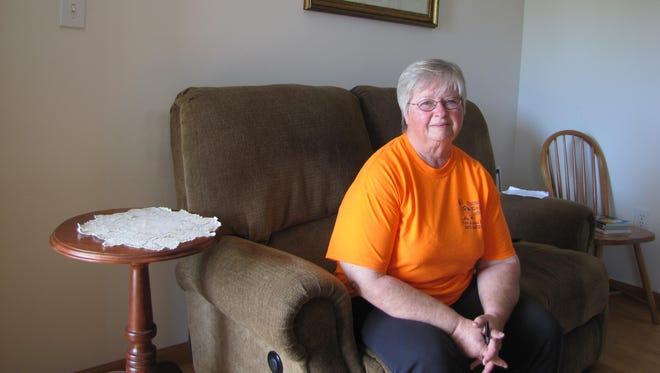 Bonnie Cooper has been staying at her mother's home temporarily after fire destroyed her own home in Ocean View.