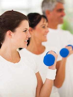 Just start: Make exercise a part of your life and you'll feel the benefits.