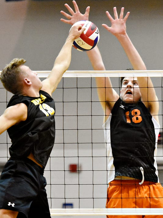 Central York vs Red Lion volleyball