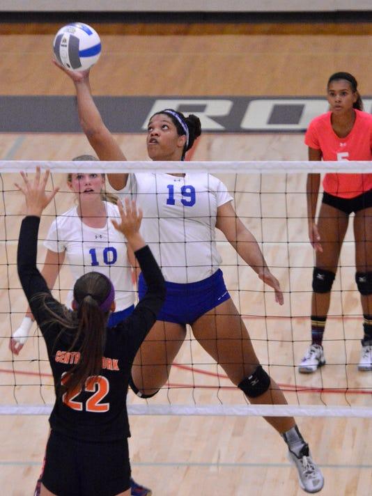 Central York vs Spring Grove girls' volleyball