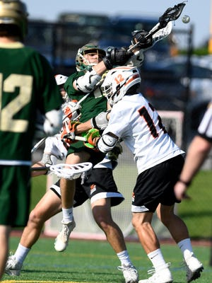York Catholic's Cole Witman is seen here in action in May. DISPATCH FILE PHOTO