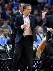 UMBC Retrievers head coach Ryan Odom.
