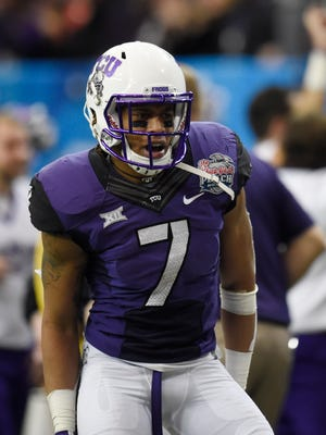 TCU Horned Frogs wide receiver Kolby Listenbee.