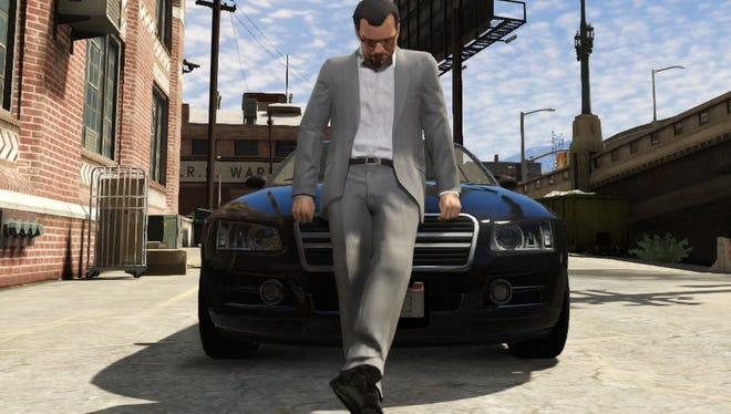 """A screenshot from """"Grand Theft Auto V"""""""