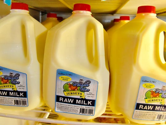 Meadow View Dairy near Leola sells about 1,200 gallons