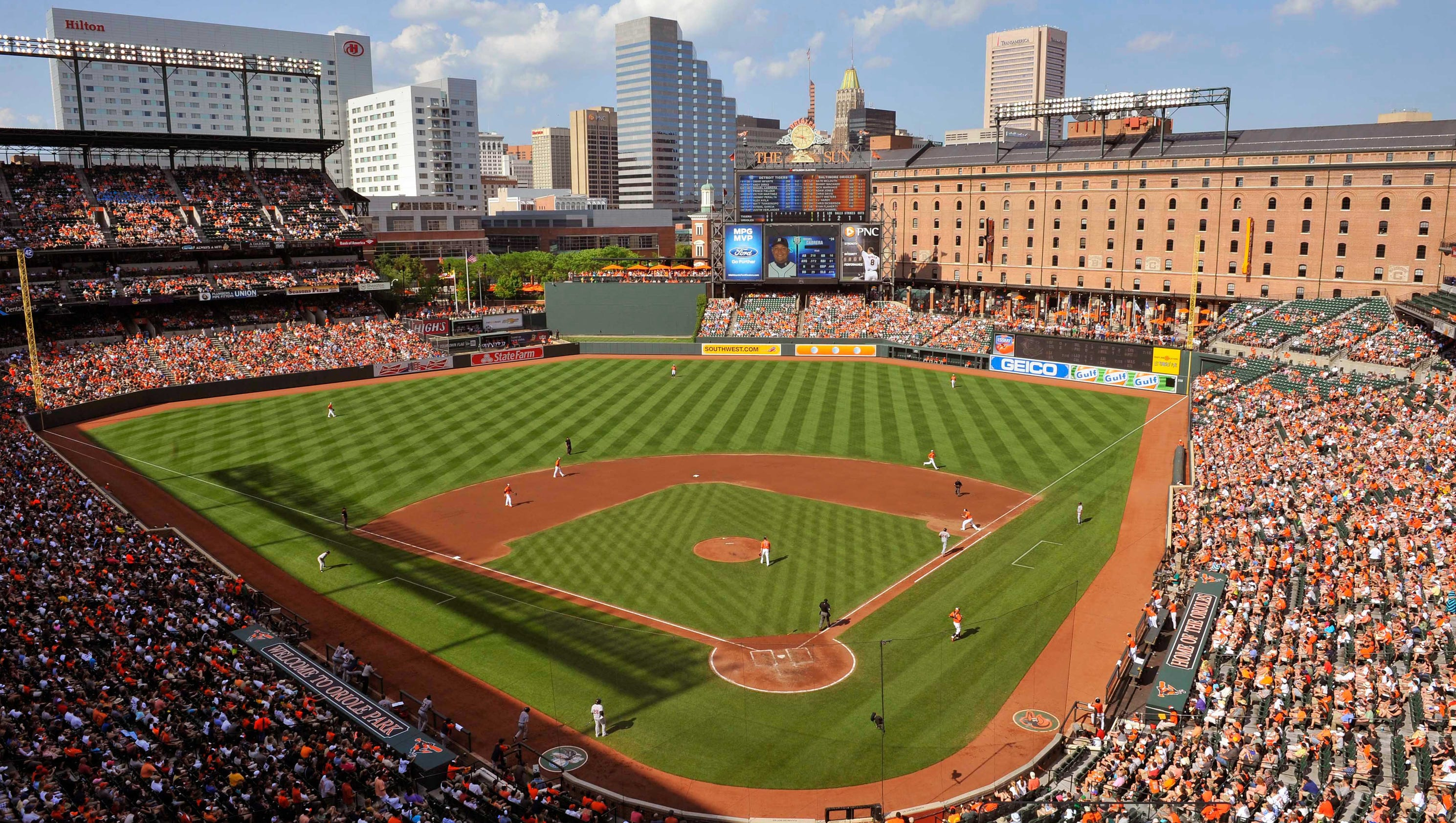 Stadium Countdown No 10 Oriole Park Changed The Game