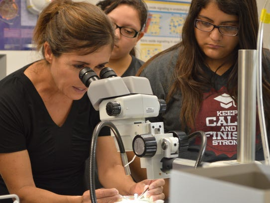 Dr. Rayna Gonzales at the University of Arizona College