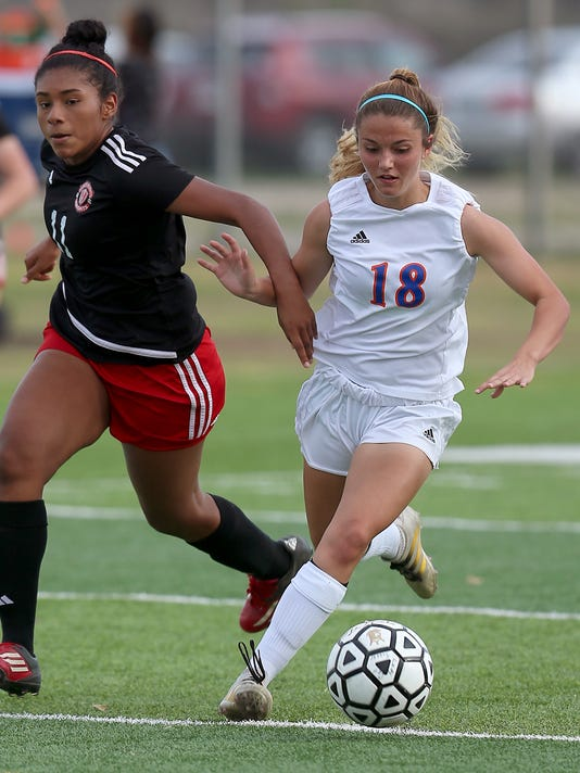 High School Girls' Soccer: Central vs Harker Heights, Feb. 28, 2017