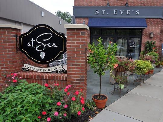 St. Eve's restaurant in Ho-Ho-Kus.
