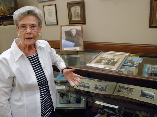 Janice McNeil is curator of the Cathedral Museum and
