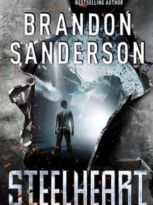 """""""Steelheart"""" by Brandon Sanderson"""