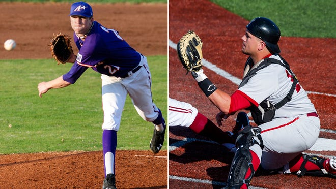 Kyle Freeland (left) and Kyle Schwarber were taken early in baseball's draft