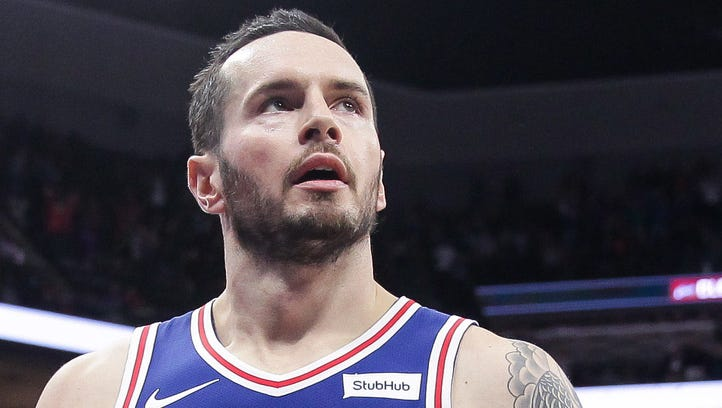 Sixers' JJ Redick out indefinitely with left leg injury