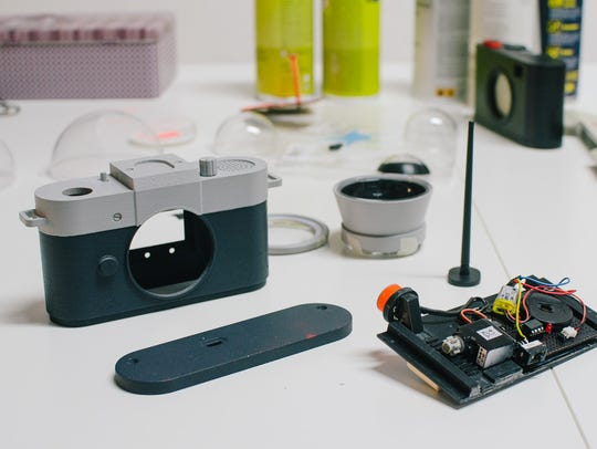 The 3D-printed camera is still in the prototype phase.
