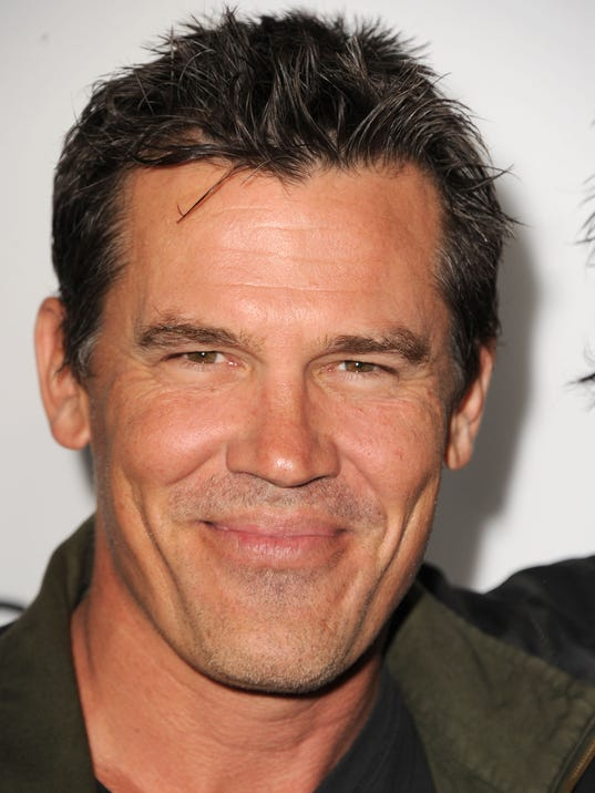 Josh Brolin has a great masculine face