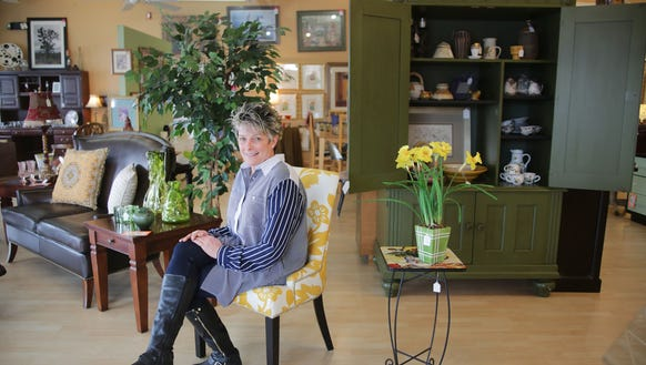 Sue Ayers is the owner of Designer Consignor, a resale