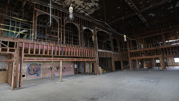 The inside of the executive terminal at the Coleman