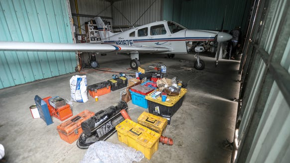 Eximious Flying Club keeps a Piper Archer plane in
