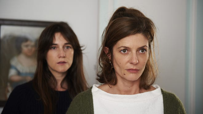 """Charlotte Gainsbourg (left) and  Chiara Mastroianni star as sisters and rivals in love in """"3 Hearts."""""""
