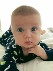 Parker Jeremiah Alves was born in December 2016 with a heart defect known as Transposition of the Great Arteries (TGA). After surgeries and blood transfusions that saved his life, Parker is now thriving, his aunt Anne Marie Leamy says.