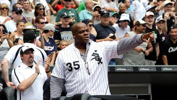 Frank Thomas 'not happy' Pudge is in Hall of Fame