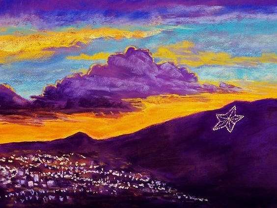 The Star on the Mountain was first lighted in 1940 and still shines today, a symbol for the hometown of El Paso.