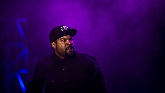 Ice Cube performed Saturday at Bunbury Music Festival.