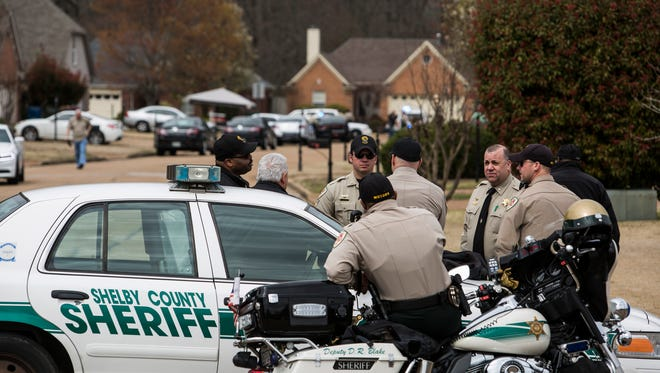 On March 17, 2017, Shelby County Sheriff's deputies blocked off a Lakeland street leading to where a woman later identified as 59-year-old Nancy Jane Lewellyn was fatally wounded in an officer-involved shooting.
