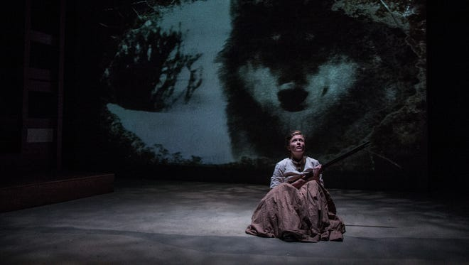 """Tess Talbot plays Lula in the world premiere production of Kara Lee Corthron's """"Listen for the Light,"""" running through May 13 at Know Theatre of Cincinnati, 1120 Jackson St., Over the Rhine."""
