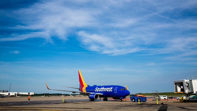 A Southwest Airlines plane made an emergency flight in Cleveland on Wednesday.