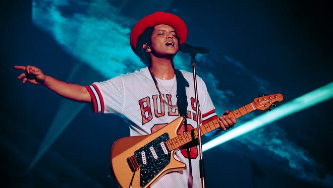 Bruno Mars put on one of the most dazzling sets in the 13 years since Lollapalooza has been rooted in Chicago.