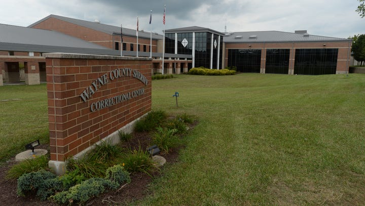 Monday's Wayne County arrest log