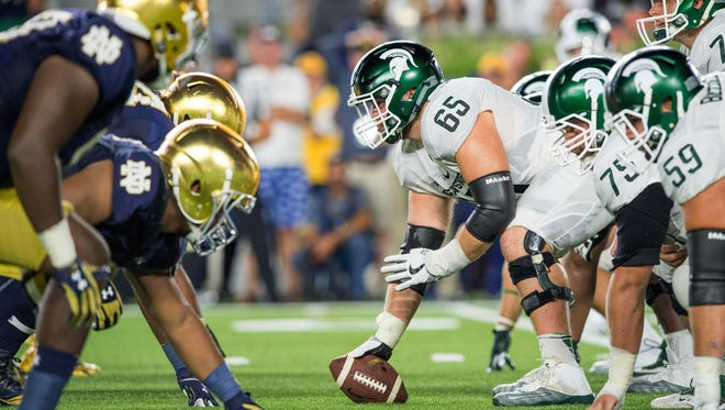 Michigan State hosts Notre Dame on Sept. 23, a rematch of MSU's 38-7 win last year in South Bend, Ind.