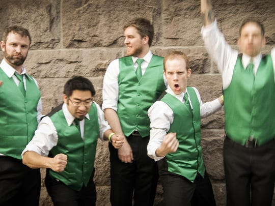 Celtic rock band Coming Up Threes will wrap up Monmouth Music in the Park on Aug. 31.