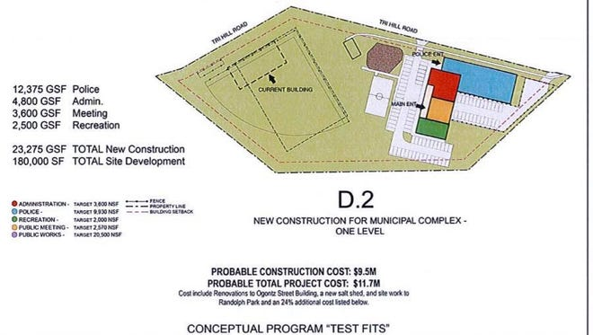 Spring Garden Township commissioners approved a concept design that could be the township's next facility campus. (Submitted)