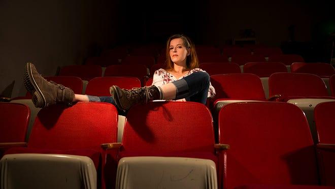 Neko Case in her practice space in St. Johnsbury.