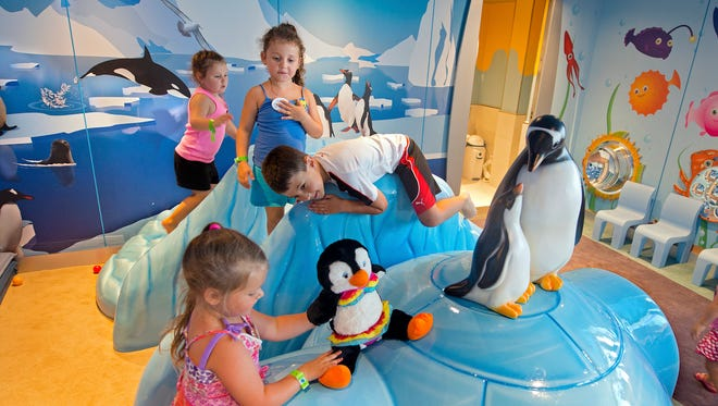 New on the Carnival Freedom is Camp Ocean, a children's area for kids ages 2 to 11.