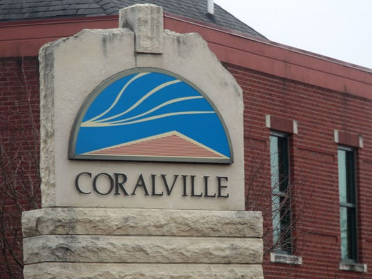 coralville_sign stock